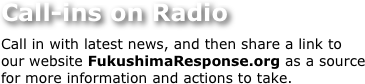 Call-ins on Radio
